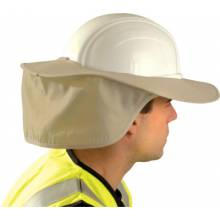 Occunomix 899-KHK Stow Away Hard Hat Shade- Khaki