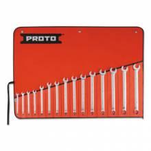 Proto 1200RM-T500 17 Pc Metric Combo Wrenc