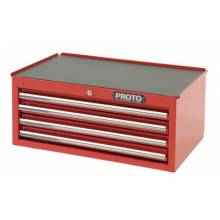 Proto 442710-4RD-IC Intermediate Chest 4 Drawer Red 27X10