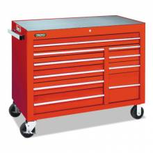 """Proto 455041-10RD Red 10 Drawer Workstation 50X41"""""""