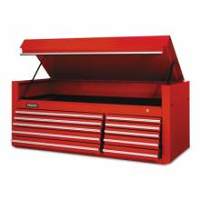 """Proto 456627-10RD Red 10 Drawer Chest 66X27"""""""