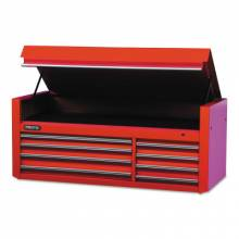 """Proto 456627-8RD 66"""" Chest 8 Drws Red"""