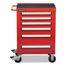 Proto 463042-6RD 460 Series Roller Cabinet 6 Drawer Red