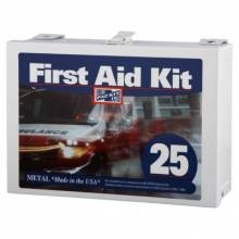 First Aid Only 6086 25 Person Steel Contractor'S First Aid Kit