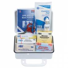 First Aid Only 6410 10 Person Plastic First-Aid Kit W/Eyewash