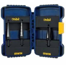 Irwin Unibit 10502 3 Pc. Unibit Step Drill