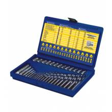 Irwin Hanson 11135ZR 35-Pc. Screw Extractor/Drill Set