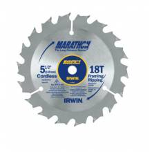 Irwin Marathon 14027 5-1/2In 18T Framing/Ripping 10Mm Arbor - Carded (5 EA)