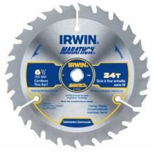 Irwin Marathon 14029 6-1/2In X 24T Framing/Ripping 5/8In Arbor - Card (1 EA)