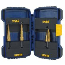 Irwin Unibit 15502 502T 3 Pc. Tin Set