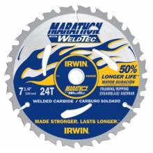 """Irwin Marathon 24035 Saw Bld 7-1/4"""" 24T Weldtec Marathon"""