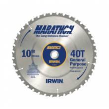 "Irwin Marathon 24070 10""X36T""X5/8"" Marathon Circular Saw Bld (5 EA)"