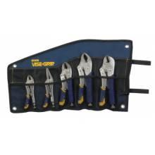 Irwin Vise-Grip 538KBT 5Pc Locking Plier Fast Release Kitbag Set