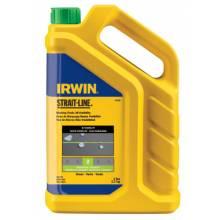 Irwin Strait-Line 65106 5-Lb. Fluorescent Greenchalk Refill