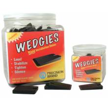 Precision Brand 48605 The Wedgie - Black Rigidshim - 200 Pieces