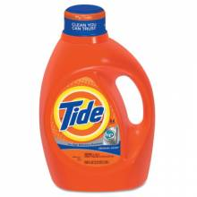 Procter And Gamble 08886 Tide Liquid He 100 Oz. 64 Loads Orig Scent (4 EA)