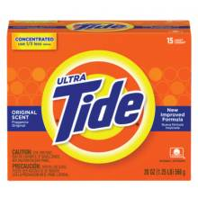 Procter And Gamble 27782 Tide Ultra Powder 20 Oz.15 Loads Original Scent