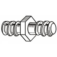 Ridgid 92880 Male Cable Coupling 3/4""