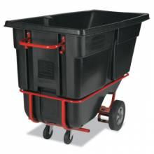 Rubbermaid Commercial 1315-42-BLA 1 Cu Yd Tilt Truck/Forkliftable