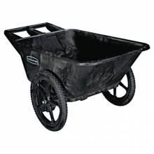 Rubbermaid Commercial 5642-BLA 7.5 Cf Big Wheel Car