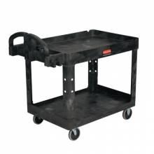 Rubbermaid Commercial FG452089BLA Heavy Duty Utility Cart500 Lb Load Capacity