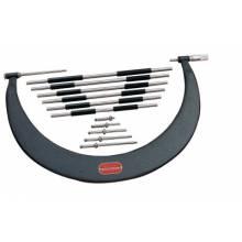 """L.S. Starrett 52999 724Lz-48 Tubular Bow Type Micrometer 42""""-48""""Rnge"""