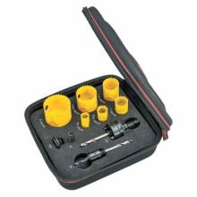 L.S. Starrett KFC06041-N Fch Electricians Kit C W/6 Holesaws And 4 Access