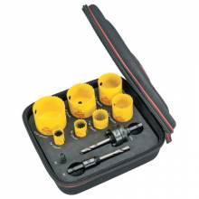 L.S. Starrett KFC07031-N Fch Plumbers Kit W/7 Holesaws And 3 Accessories