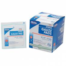 """Honeywell North 067644 (100/Bx) Gze Pads Sterile 4""""X4"""" 100'S"""