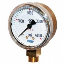 Wika 2.5-4000 Gauge 2.5X4000 Brass 8610975