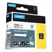 """Dymo/Rhino 18488 Rhino 1/2"""" White Flexible Nylon Labels (1 EA)"""