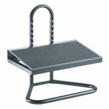 Safco Products Company SAF-5124 Footrest-Adj-Indust-Bk