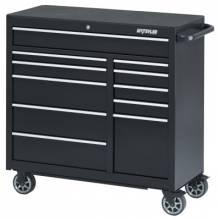 """Waterloo PCA-4111BK 41"""" 11-Drawer Cabinet -Black"""