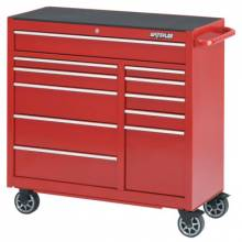 """Waterloo PCA-4111RD 41"""" 11-Drawer Cabinet -Red"""