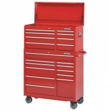 """Waterloo PCH-418RD 41"""" 8-Drawer Chest - Red"""