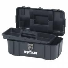 "Waterloo PP-1406BK 14"" Plastic Tool Box - Black"