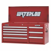"""Waterloo WCH-418RD 41"""" 8-Drawer Chest - Red"""