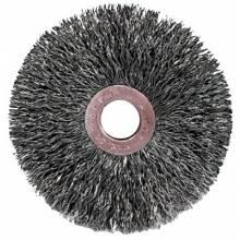 """Weiler 99553 C-4 4"""" Copper Center Wire Wheel .006 1/2 Ar (1 EA)"""