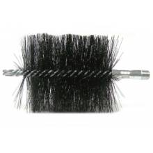 "Weiler 44169 4"" Double Spiral Flue Brush .012 4-1/2"""