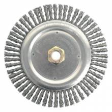 Weiler 79800 Dually In Root Pass Brush- .020 Steel Wire- 5/8-
