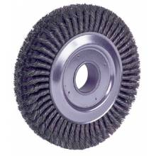 """Weiler 94008 10"""" Cable Twist Wire Wheel .023-2"""" A.H"""