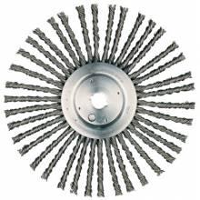 "Weiler 94224 12"" Cable Twist Wire Wheel .035 1"" Ah"