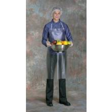 West Chester UC-12-45 Protective Clothing 12 Mil Raw Edge Apron Clear (12 EA)