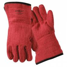 Wells Lamont 636HRLFR Terry Cloth Flame Resistant Red (12 PR)
