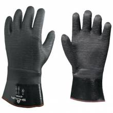 "Showa 6781R-10 Disp Lly Coated Neoprene- 12"" Gauntlet Dz3"