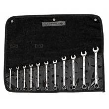 Wright Tool 950 11-Pc. Metric Combination Wrench Set 7Mm-19Mm-12