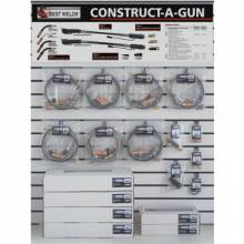 Best Welds CAG-DW3 Construct-A-Gun Wall Display