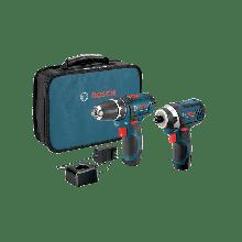 BOSCH CLPK22-120 12V Max 2-Tool Combo Kit (PS31 & PS41) w/ (2) 2.0Ah Batteries