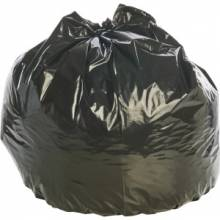 "AbilityOne 8105015346819 Stout Insect Repellent Trash Bags - 45 gal - 33"" Width x 45"" Length x 2 mil (51 Micron) Thickness - Black - Polyethylene - 65/Carton"