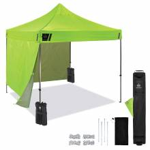 Shax 6051 Single Lime Heavy-Duty Pop-Up Tent Kit - 10ft x 10ft
